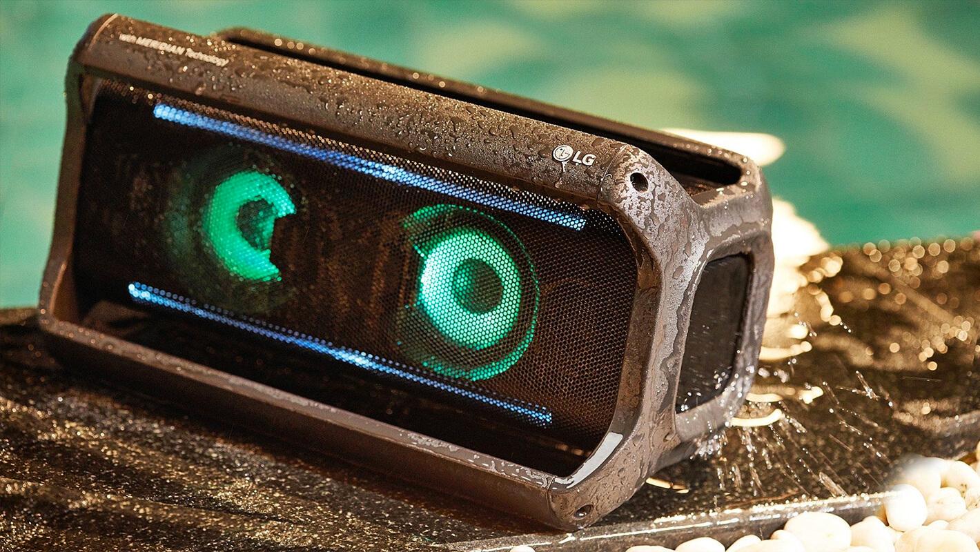 lg pk7 portable speaker música music