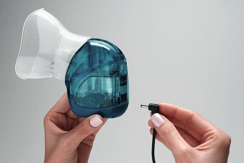 Nebulizador Ultra-Alívio. Projeto de design e inovação em saúde