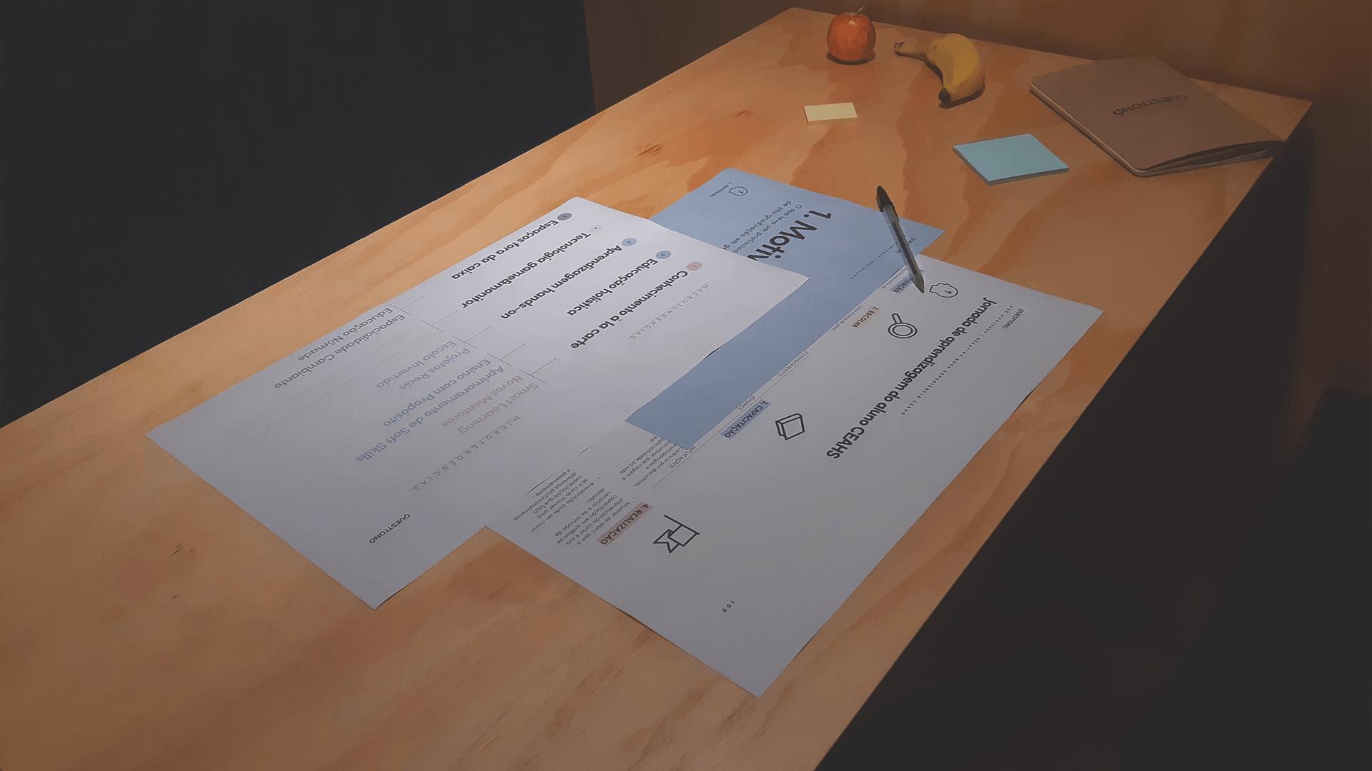 Case de FGV: Fotos de processo. Inovação em educação